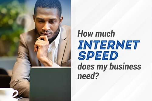 Best Internet Speed for Your Business